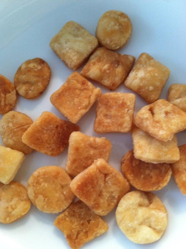 apple pie croutons