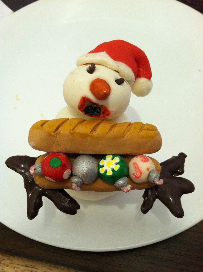 ornament sammy snowman