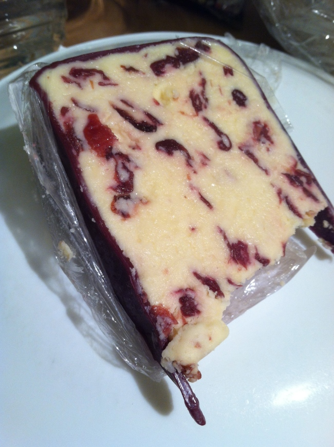 november nine cranberry cheese